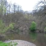 Pohled na tábor od řeky