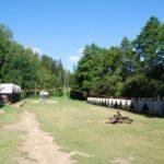pohled do tábora